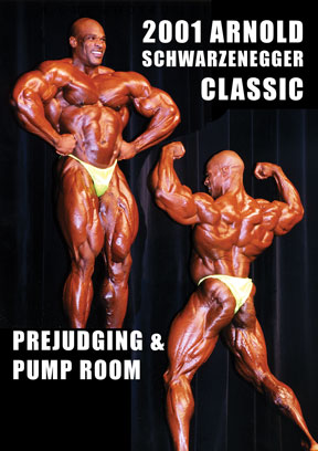 2001 Arnold Classic Prejudging & Pump Room