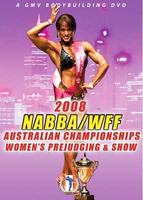 2008 NABBA/WFF Australian championships - Women