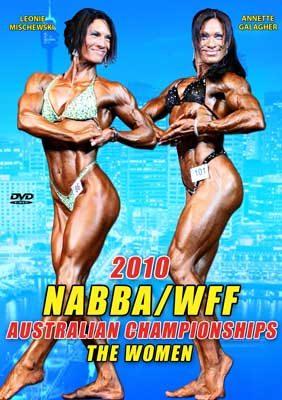 2010 NABBA/WFF Australian Championships - Women