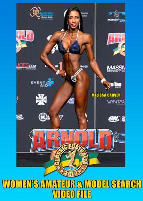 2017 Arnold Amateur Women - Video File