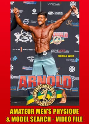 2017 Arnold Amateur Australia: Men's Physique & Model Search Video File