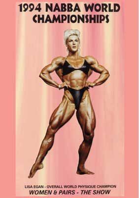 1994 NABBA World Championships: Women & Pairs Show