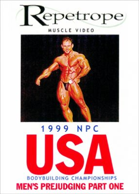 1999 NPC USA: Men's Prejudging # 1