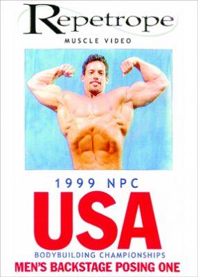1999 NPC USA: Men's Backstage Posing # 1 DVD