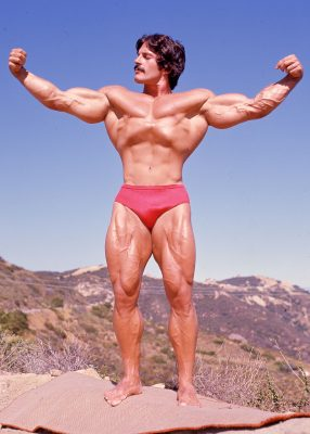 Mike Mentzer Mountain Poster