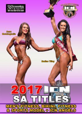 2017 ICN SA Titles Fitness & Bikini DVD