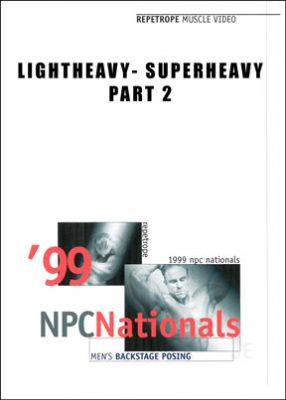 1999 NPC Nationals - Backstage Posing Light & Heavyweight - Part 2