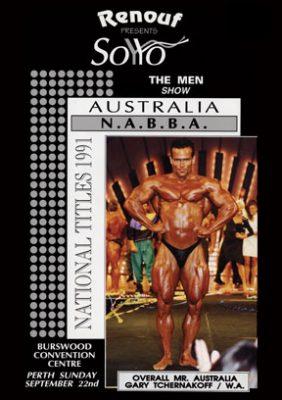 1991 NABBA Australia - Men's Show Download