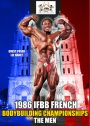 1986 IFBB French Bodybuilding Championships Men