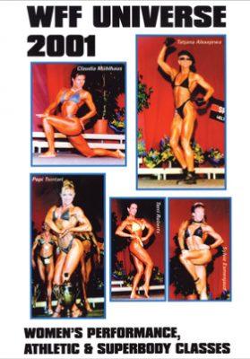 2001 WFF Universe Women # 2 DVD