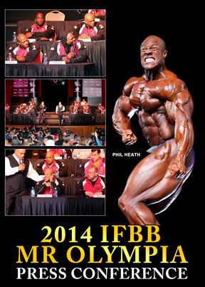 2014 Mr. Olympia Press Conference