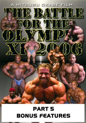 2006 Battle Olympia - Bonus Features