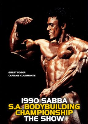 1990 SABBA SA Bodybuilding Championships - Show DVD