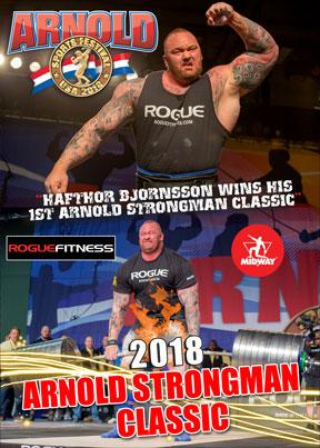 2018 Arnold Strongman DVD