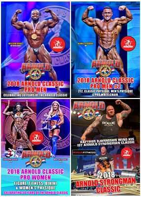 2018 Arnold Classic Pro Classes