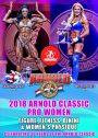 2018 Arnold Classic Pro Women DVD