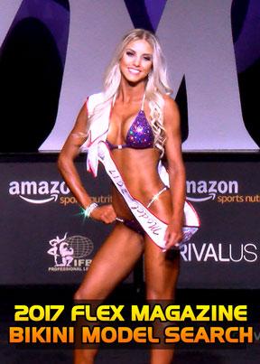 2017 Flex Magazine Model Search Video File