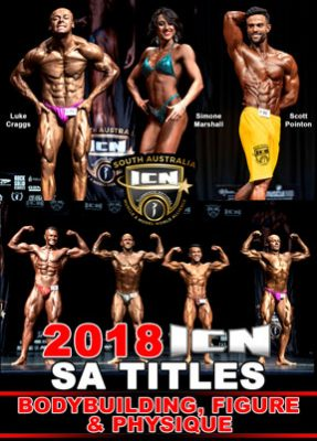 2018 ICN SA titles, Bodybuilding, Figure etc.