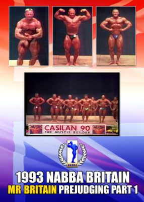 1993 NABBA Mr. Britain Prejudging Part 1 Download