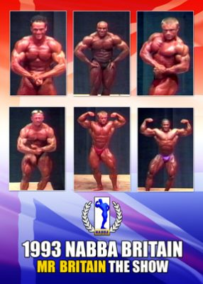 1993 NABBA Mr. Britain - Show Download