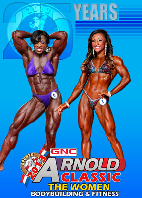 2013 Arnold Classic Women Bodybuilding & Fitness