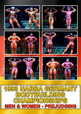 1993 NABBA Germany Prejudging