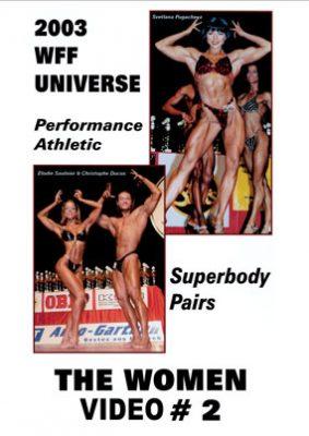 2003 WFF Universe: Women # 2 DVD