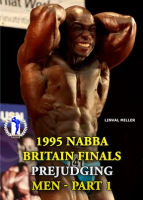 1995 NABBA Mr. Britain - Prejudging # 1