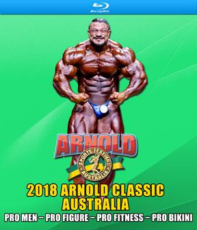 2018 Arnold Classic Australia Blu-Ray