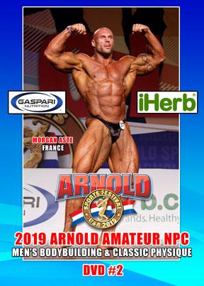 1a9ae6a099bd7b 2019 Arnold Amateur NPC Bodybuilding   Classic Men (DVD) - GMV ...