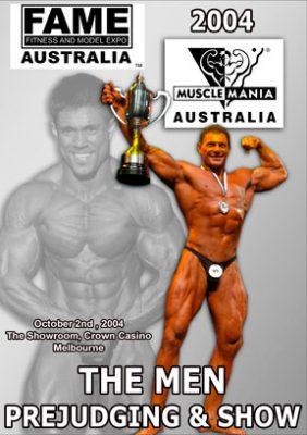 2004 MuscleMania Australia Men