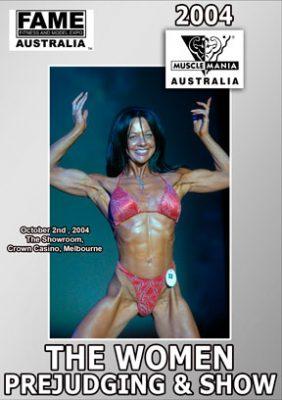 2004 MuscleMania Australia Women