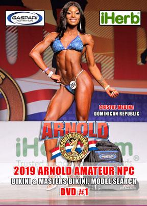 2019 Arnold Amateur NPC Womenb's Bikini and Model Search DVD