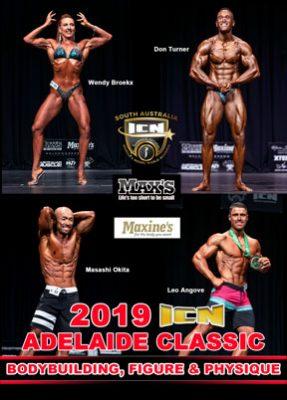 2019 ICN Adelaide Classic Bodybuilding DVD