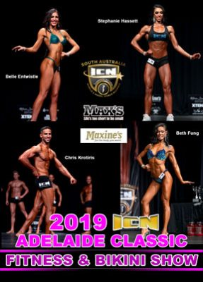 2019 ICN Adelaide Classic Fitness & Bikini DVD