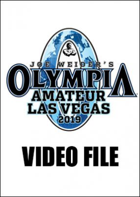 2019 Amateur Olympia Video File