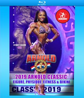 2019 Arnold Classic Pro Women on Blu-Ray