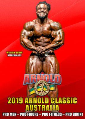 2019 Arnold Classic Aistralia Pro Classes DVD