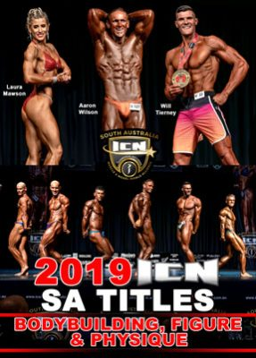 2019 ICN SA Titles Bodybuilding DVD