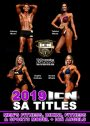 2019 ICN SA Titles Fitness, Sports model etc DVD