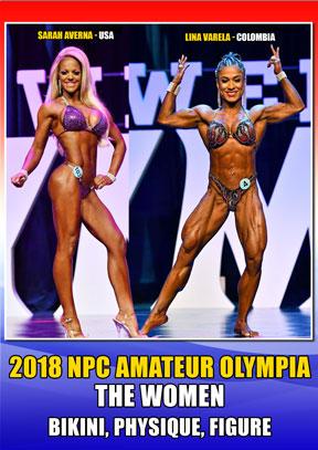 2018 NPC Amateur Olympia Women DVD