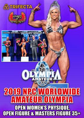 2019 Amateur Olympia Women's DVD # 2