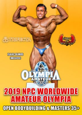 2019 NPC Amateur Olympia Men's # 1 DVD