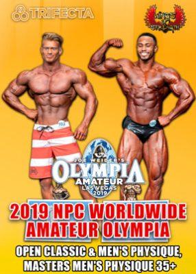 2019 NPC Amateur Olympia Men's # 2 DVD