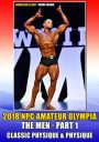2018 NPC Amateur Olympia: Men # 1 DVD