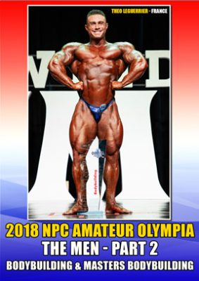 2018 NPC Amateur Olympia Men's Bodybuilding DVD