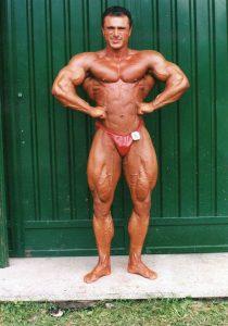 Salvatore Cirillo class winner 2000 NABBA Europe