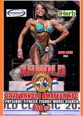 2020 Arnold Amateur Women DVD # 2