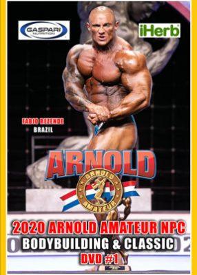 2020 Arnold Amateur Men DVD # 1