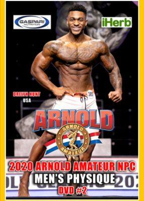 2020 Arnold Amateur Men # 2 DVD